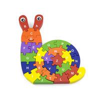 3D Puzzle - Snail