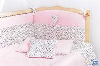 Set lenjerie Confort stele roz 9 piese