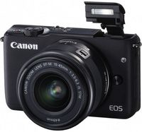 Canon EOS M10 Black KIT + EF-M 15-45 IS STM + CaseLogic DCB-304