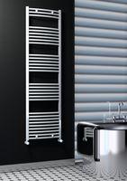купить Полотенцесушитель 500 x 1800 - CURVED white RADIVA HAITI в Кишинёве