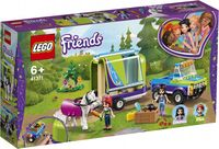 Lego Friends Remorca de transportat cai a Miei