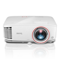 "DLP FullHD Projector 3000Lum,  10000:1 BenQ ""TH671ST"", White Projection System:  DLP, DC3 DMD Chip;  Color Wheel RGBYCW;  Native Resolution 1920x1080 pixels;  Brightness 3000 ANSI Lumens;  Contrast Ratio 10,000:1;  Display Color 1.07 Billion Colors;  Aspect Ratio Native 16:9 (5 aspect ratio selectable);   Throw Ratio 0.69 - 0.83 (100"" @ 1.5m);  Projection Size 60""~120"" / 300"";  Zoom Ratio 1.2x;  Keystone Adjustment Vertical ± 40 degrees;  Projection Offset 102.5% ± 2.5%;   Resolution Support VGA(640 x 480) to WUXGA_RB (1920 x 1200) *RB = Reduced Blanking;  Horizontal Frequency 15 ~ 102KHz;  Vertical Scan Rate 23 ~ 120 Hz;   HDTV Compatibility 480i, 480p, 576i, 567p, 720p, 1080i, 1080p;  Video Compatibility NTSC, PAL, SECAM, PAL60;   Power Consumption Max 355W. Normal 320W. Eco 240W.  Light Source  240W Lamp;  Light Source Life 4000/10000/10000/15000 hours(Normal/Eco/SmartEco/LampSave).   Built in Speaker 5W x 1.   Dimensions(W x H x D) 296 x 120 x 224 mm;  Weight 2.7 kg (5.95 lbs);  Security Security Bar;   Accessories (Standard) Power Cord;  VGA cable (1.8m);  Remote Control (RCV013);   AAA Battery x 2;   Lens Cover x 1;  User Manual CD;  Quick Start Guide;  Warranty Card."