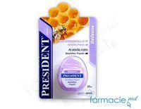 Зубная нить President Defense (прополис, гекседин) 20м