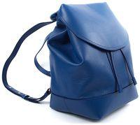 Рюкзак VB D01 кожа синий