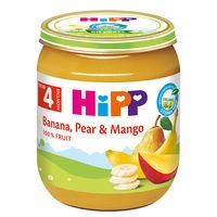 Hipp пюре банан груша и манго,4+мес. 125г