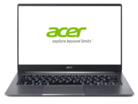 "ACER Swift 3 Steel Gray (NX.HJEEU.005), 14.0"" IPS FHD (Intel Core i3-1005G1 2xCore,1.2-3.4GHz, 8GB(1x8) LPDDR4 RAM, 256GB PCIe NVMe SSD, NVIDIA GeForce MX250 2GB GDDR5, WiFi-AC/BT 5.0, FPR, Backlit KB, 3cell, HD Webcam, RUS, Linux, 1.19kg, 15.95mm)"