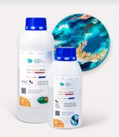 Эпоксидная смола 1 кг для рисования Artline Honey epoxy (2-компонентная)