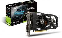 Видеокарта ASUS Dual GeForce GTX 1660 Ti OC edition (6 ГБ/GDDR6/192 бит)