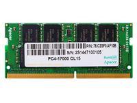 16GB DDR4- 2400MHz  SODIMM  Apacer