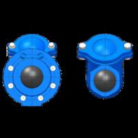 купить Обратный клапан dn150 флянцевый шаровый -  pn10-16, L=400mm (8-22) Wato 8 отверстий в Кишинёве