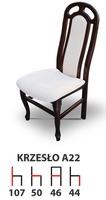Деревянный стул A22