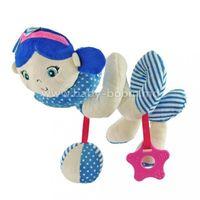 "Baby Mix  STK-18870G BLUE Спираль для коляски ""Девочка"""