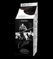 Vopsea p/u par, ESTEL Celebrity, 125 ml., 5/71 - Șaten natural