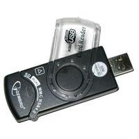 Gembird FD2-ALLIN1-C1, MS MS-PRO HS-MS SD HS-SD Micro-SD MMC M2 SIM-card