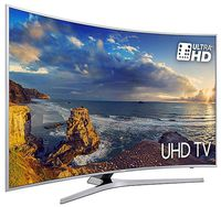 """49"""" LED TV Samsung UE49MU6502, Silver (3840x2160 Curved UHD, SMART TV, PQI 1600Hz, DVB-T/T2/C/S2) (49"""" Curved, Silver, 4K UHD, Smart TV (Tizen OS), PQI 1600Hz, UHD Up-Scaling, Active Crystal Color, 3 HDMI, Wi-Fi, 2 USB  (foto, audio, video), Smart Remote Control. DVB-T/T2/C/S2, OSD Language: ENG, RO, Speakers 2x10W, Dolby Digital Plus, VESA 400x400, 16.1Kg )"""