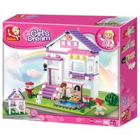 Sluban Girls Dream Constructor Villa with pool