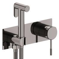 BRENTA: mixer ascuns cu duș igienic, grafic. crom  (camera de baie)