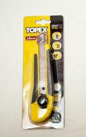 Нож с обламыв. лезвием 18 мм  Topex