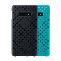 Чехол Samsung Galaxy S10e (EF-XG970) Pattern Cover Black&Green (2buc)