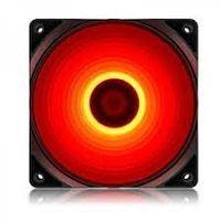 Корпус вентилятора Deepcool RF120R, 120x120x25, 21,9 дБ, 48,9 куб. Футов в минуту, 1300PM, красный светодиод, гидроподшипник
