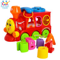 Hyile Toys Паровозик с музыкой и светом