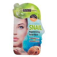 Beauty Formulas Snail Regenerating Facial Mask with Snail Slime 2g - Маска для регенерации кожи лица с экстрактом улитки