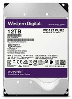 "Жесткий диск 3.5"" HDD 12.0TB-SATA-256MB Western Digital ""Purple Surveillance (WD121PURZ)"""
