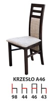 Деревянный стул A46