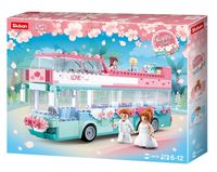 CONSTRUCTOR GIRL IS DREAM HAPPY DIARY WEDDING BUS