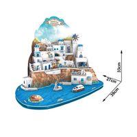3D PUZZLE Santorini Island