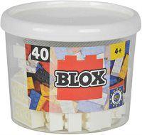 Конструктор Simba Blox Constr. 40 el  белый 4118890