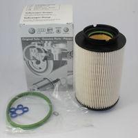 1K0127434A Фильтр топливный VW CADDY III/ GOLF V/SKODA OCTAVIA 1.9TDI/2.0TDI (5 болтов) (ref. KX178D), VAG оригинал