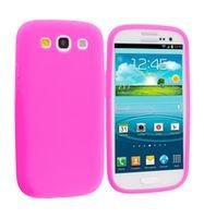 Husa de protectie silicon GO COOL pentru Galaxy S3, Pink
