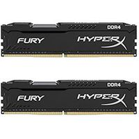 16GB (Kit of 2*8GB) DDR4-2400 Kingston HyperX® FURY DDR4, PC19200, CL15, 1.2V