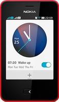 Nokia Asha 501 2 SIM (DUAL) Red