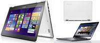 "Lenovo IdeaPad Yoga700-14ISK (+Win10) White, 14.0"" IPS TOUCH FullHD 360°Flip&Fold (Intel® Core™ i5-6200U 2.30-2.80GHz (Skylake), 4Gb DDR3, 128Gb SSD, Intel® HD Graphics 520, WiFi-N/BT4.0, HD720p Webcam, 4cell, RUS, Backlit KB, W10H-EM, 1.6kg)"