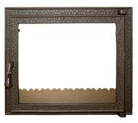 Дверца чугунная со стеклом Weekend - Carmen mijlociu