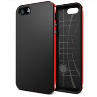 Husa de protectie NEO HybridEX Go Cool pentru iPhone 5/ 5S, Pink-Black
