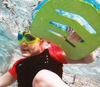 Bord înot Aqua Sphere Kickboard JR Green/Blue (ST136111)