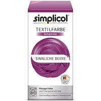 купить SIMPLICOL Intensiv - Sinnliche Beere, Краска для окрашивания одежды в стиральной машине, Sinnliche Beere в Кишинёве