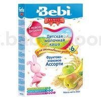 Bebi молочная каша Premium фруктово-злаковое ассорти 250gr.(6+)
