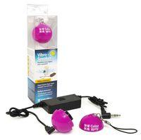 Vibro-Speaker CW-SPB02P (Pink, Max: 2W RMS, 500-20kHz, 4ohm, 3.5mm, 2xAAA)