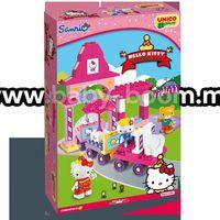 Androni Giocattoli 8689-00HK Конструктор Парк атракционов Hello Kitty (51 эл)