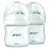 Бутылочки Philips AVENT Natural 125 мл с силиконовой соской (0+ мес) 2 шт