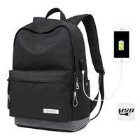 """Городской рюкзак Kaka 2199-1 для ноутбука 15"""", с USB-портом, синий-чёрный"""