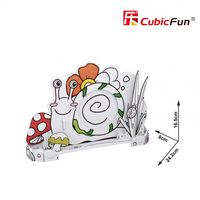 3D PUZZLE Honeybee Pen Holder & Snail Photo Frame