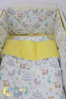 Комплект постельного белья Happy Baby Yellow (6 ед.)
