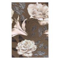 Latina Ceramica Декор Mural Aurea Rose Marron 25x50см