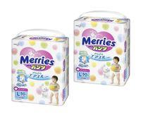 Подгузники-трусики Merries L (9-14 kg) 100 шт