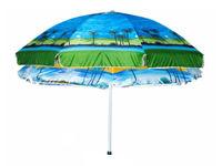 Зонт солнцезащитный D210cm, Beach, чехол
